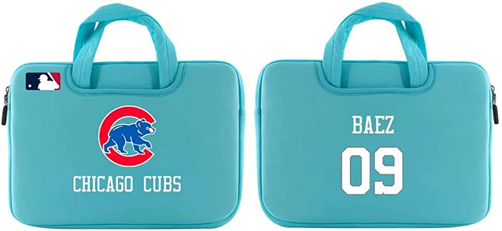 15.6 Inch Briefcase Water Repellent Laptop Bag Satchel Tablet Business Carrying Handbag Laptop Sleeve for Men Women Youthh VF LSG Javier Baez Chicago Cubs #9 Baez Laptop Bag 11.6 Inch
