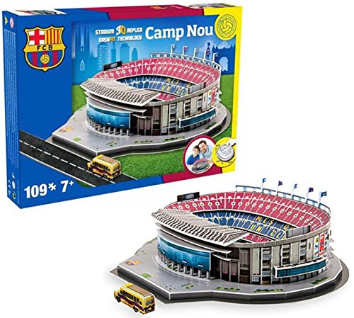 Estadio Camp Nou, FCB Barcelona Rompecabezas 3D Nanostad