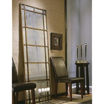 Amazon.com: Gorgeous Full Length Mirror Three Panel Arch Floor ...