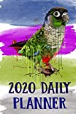 2020 Daily Planner: Conure 2020 Daily Planner Calendar Schedule Organizer Appointment Journal Notebook For Green Cheek Conure Parrot Bird Owners Lovers