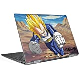 Skinit Dragon Ball Z Envy x360 15t (2018) Skin - Vegeta Power Punch Design - Ultra Thin, Lightweight Vinyl Decal Protection