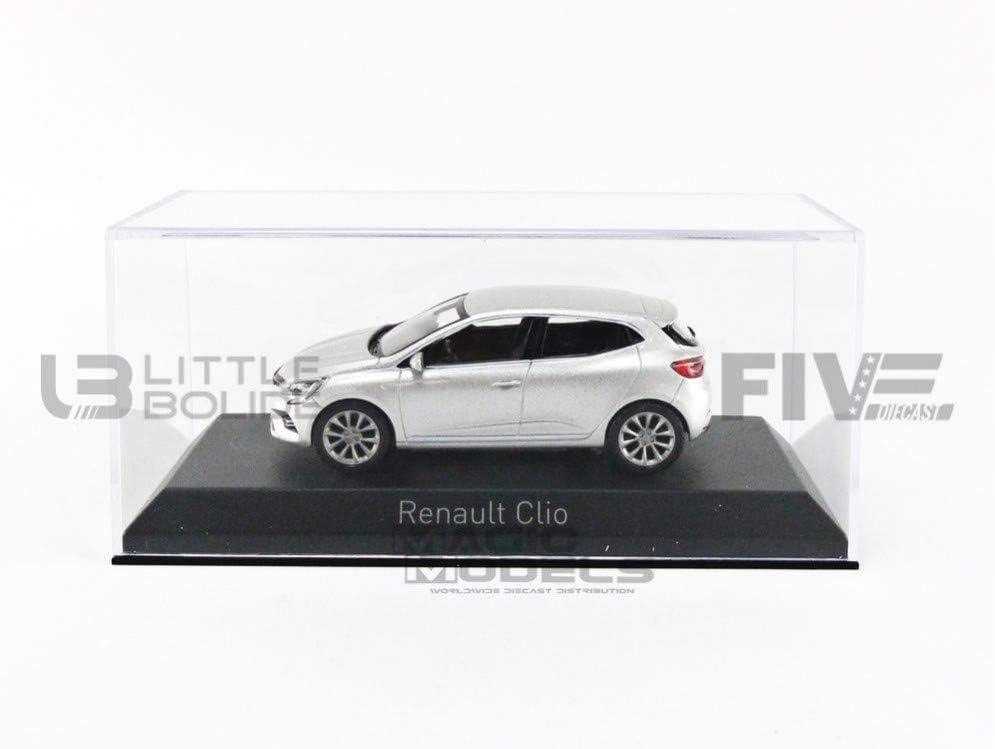 RENAULT CLIO V gris Platine 1//43
