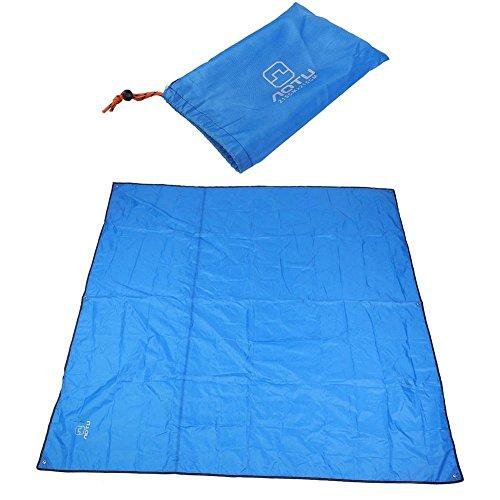 司書子犬ビールテントシート 登山 ピクニック マット 軽量 防水 シリコナイジング キャンプ アウトドア グランドシート 215 * 215cm 4色
