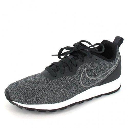 TOTO x32902–Taller De 8,4cm–Altura Aumentar Ascensor zapatos–negro y azul ligero zapatillas, color Negro, talla 40,5 EU