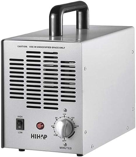 DJXLMN Generador de ozono, esterilizador desodorizador de ...