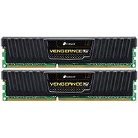 Corsair Vengeance 8GB (2x4GB) DDR3 1600 MHz (PC3 12800) Desktop Memory (CML8GX3M2A1600C9)