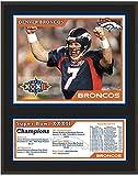 : Denver Broncos Super Bowl XXXII Sublimated 12x15 Plaque - NFL Team Plaques and Collages