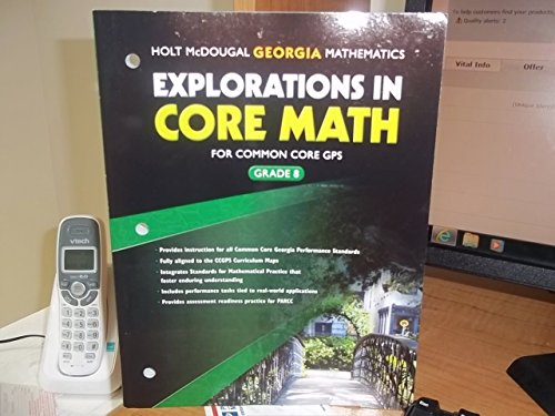 Explorations in Core Math Georgia: Common Core GPS Student Edition Grade 8 2014