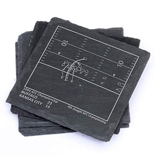 - Greatest Bills Plays - Slate Coasters (Set of 4)
