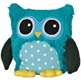 Warmies Pop Owl with Lavender Scent and Removable Filling Turquoise