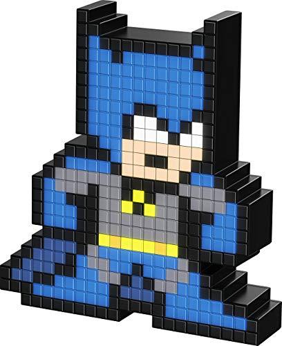PDP Pixel Pals DC Comics Batman Collectible Lighted Figure, 878-029-NA-BAT