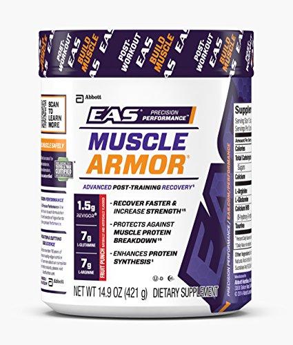 EAS Muscle Armor complément alimentaire en poudre, Punch aux fruits, 14 portions, 14,9 onces (emballage peut-être varier)