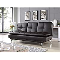 Relax-A-Lounger Imperial Convertible Sofa in Java