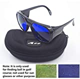 A99 Golf E-1 Ball Finder Glasses (Black Frame)