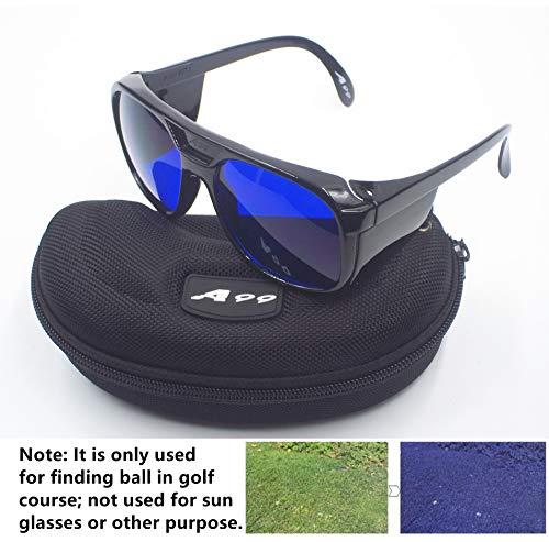 A99 Golf E-1 Ball Finder Glasses (Black Frame) -