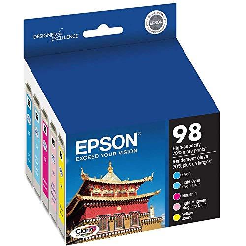 EPSON T098920 COLR MULTI INK CARTRIDGE HIGH-CAPACITY (837 Epson Artisan Printer)