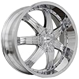 Alloy Technologies Wheels A-TECH AT412 28X10 BLANK +15 CHROME 73.1MM