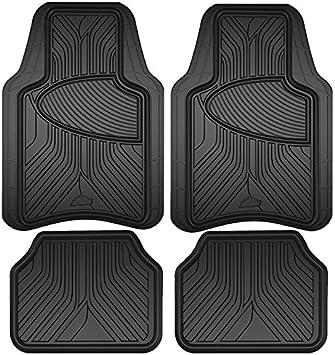 Toyota Prius 2005-2009 Black Tailored Floor Car Mats Carpet //Rubber