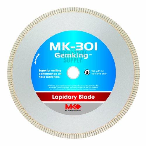 MK Diamond 166067 MK-301 Gemking 8-Inch Lapidary Wet Cutting Diamond Blade