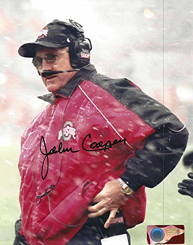 John Cooper Autographed Ohio State Buckeyes 8x10 Photograph - Certified Authentic - Autographed Photos
