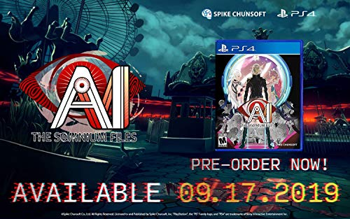AI: The Somnium Files Standard Edition - PlayStation - File Spike