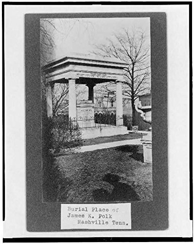 Photo: Burial Place of James K. Polk,Nashville,Tennessee,TN,c1908,Cemetery,Monument
