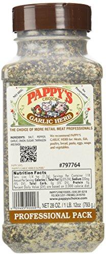 Garlic Herb Seasoning (Pappy's Garlic Herb Seasoning (28 Oz Professional Pack))