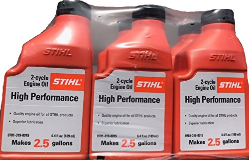 (STIHL Mixing Oil 2.5 GAL 2-Cycle Engine Oil (6 Pack))