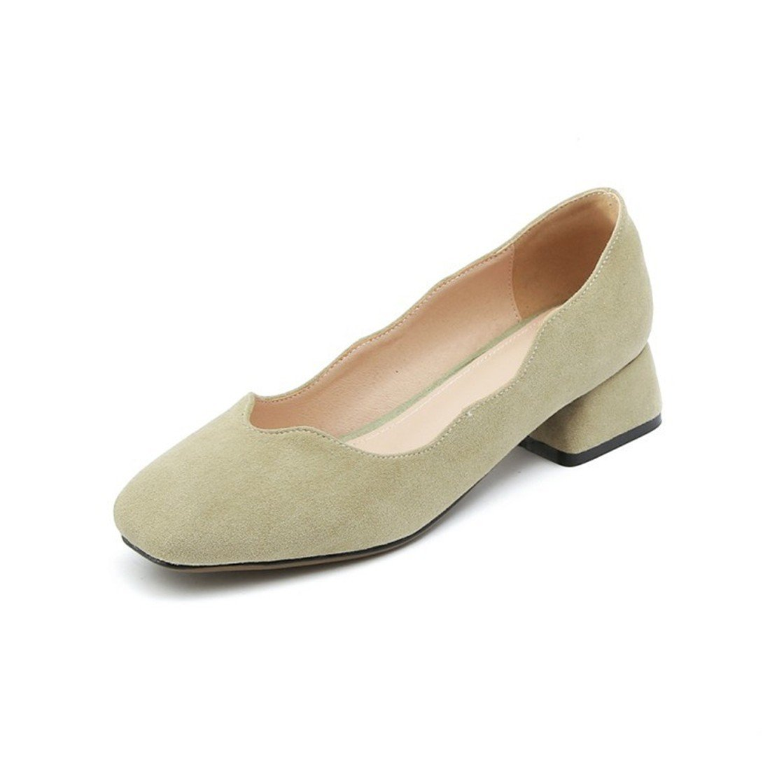 RFF-Frühlings-, Sommer- und Pumps Herbstschuhe Damen Pumps und Geschlossene Ballerinas Riemchenpumps The Spring and Summer Fashion with Low schuhe Party schuhe with Large Numbers of Ms. d36cad