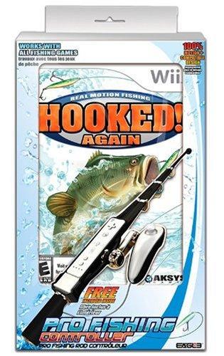 Hooked Again Fishing Bundle - Nintendo Wii