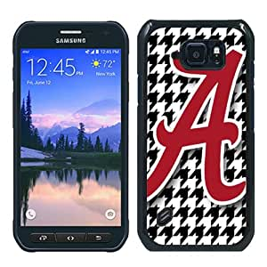 Unique Samsung Galaxy S6 Active Skin Case ,Fashionable And Durable Designed Phone Case With Southeastern Conference SEC Football Alabama Crimson Tide 20 Black Samsung Galaxy S6 Active Screen Cover Case