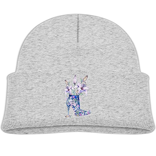 LEUNG Blood-A Autumn Winter Warm Cap Hat For Adult Baby Children Lily Flower High-heeled 2017 New Fashion Toddler Girls Boys Winter Hats Pleasing Hat