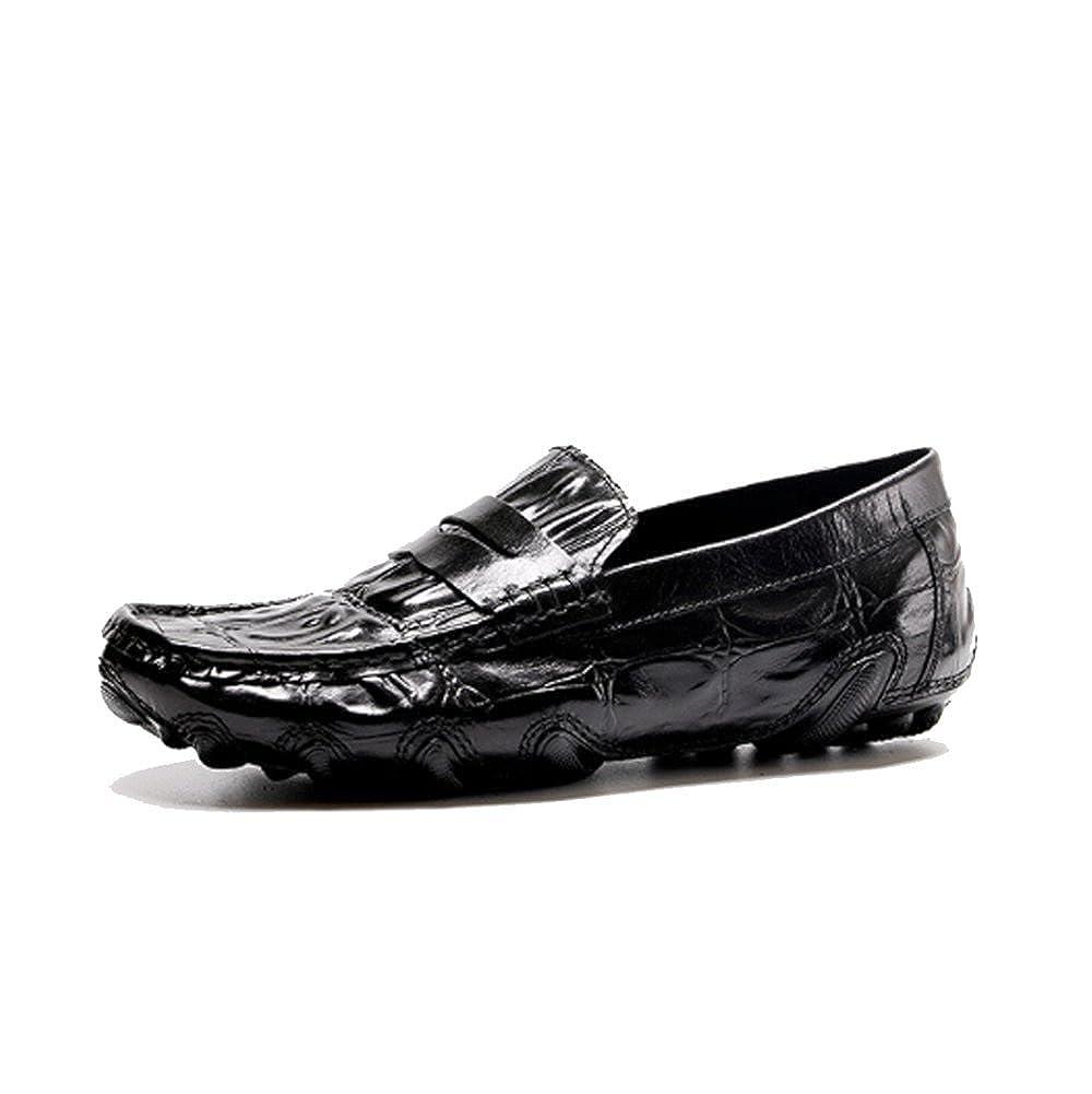 NIUMJ Herrenmode Business Casual British British British Atmungsaktive Faule Schuhe 8941b3