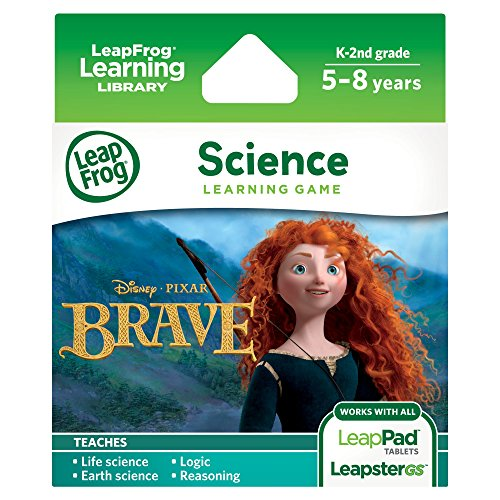 LeapFrog Disney Pixar Brave Learning Game (Works with LeapPad Tablets, LeapsterGS, and Leapster Explorer) (Disney World Explorer compare prices)