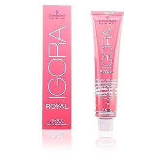 Oferta amazon: Schwarzkopf Igora Royal Coloración Permanente en Crema para el Cabello 7-77 - 60 ml.