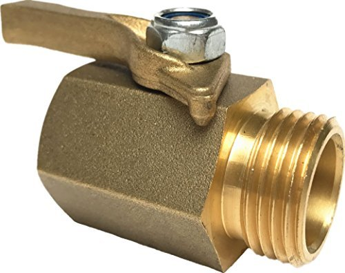 Super Heavy Duty Solid Brass Shut Off Ball Valve for 3/4