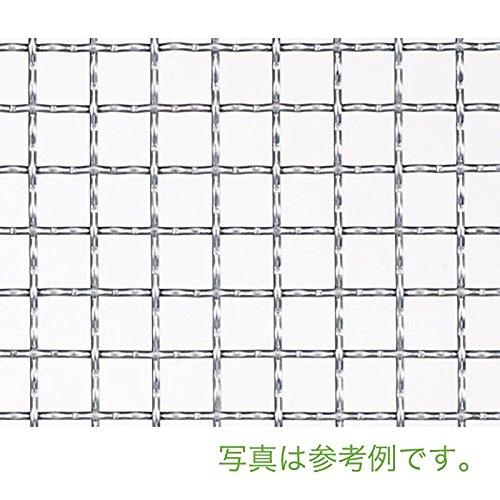 【北海道発送不可】 亜鉛クリンプ 金網 線径 #16(1.6mm) 網目 15 mm 幅 910 mm × 長さ(巻き) 15 m 吉田隆【代不】 B01EL3O7FK