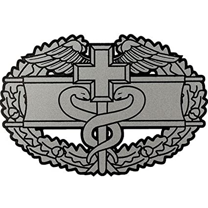 Amazon Us Army Combat Medical Badge Clear Decal Automotive