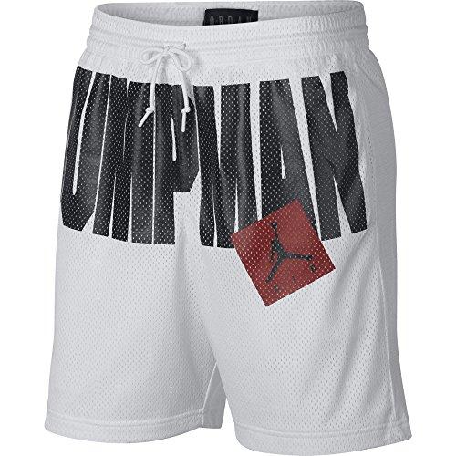 Nike Mens Jumpman AIR MESH Short AA4607-100_2XL - Blanco
