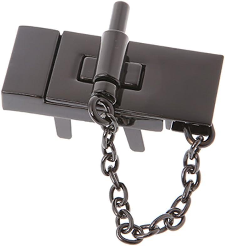 FATTERYU Rectangle Handbag Twist Lock DIY Craft Case Clasp Metal Buckle Switch Button Gold