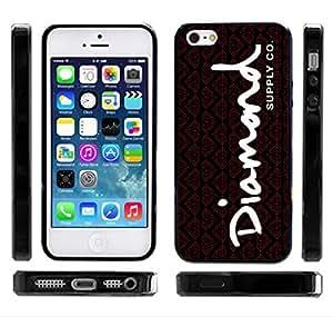 Diamond Supply Co Black/Red OG Writing iPhone 4/4s Case Skateboarding by icecream design