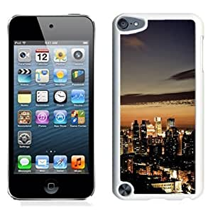 NEW Unique Custom Designed iPod Touch 5 Phone Case With Taiwan Taipei At Night_White Phone Case