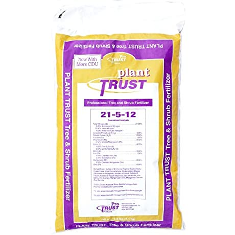 Pro Trust Products Plant 15 6 Number 21 5 12 Tree And Shrub Prof Fertilizer