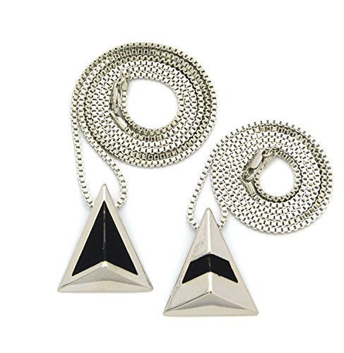 "Musician Triangle Helmet Pendant Set with 24"" 30"" Box for sale  Delivered anywhere in USA"