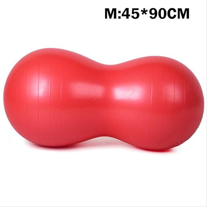 YJQQ - Pelota de Yoga con Forma de Cacahuete (45 x 90 cm), Color ...