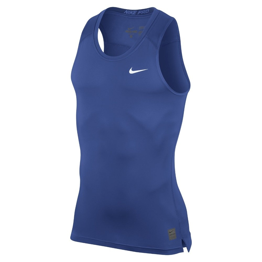 fc05ead02 Galleon - Nike Mens Pro Combat Compression Sleeveless (X-Large, Game Royal)