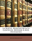 La Boétie, Montaigne and le Contr'un, Arthur Armaingaud, 1149697911
