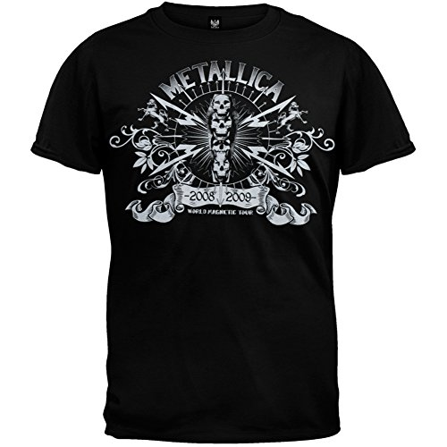 Official Metallica World T-Shirt for Men - S to XL