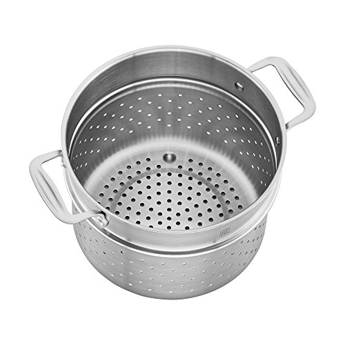 ZWILLING Spirit 3-ply 6-qt Stainless Steel Pasta Insert (Fits 6-qt Dutch Oven) by ZWILLING J.A. Henckels (Image #3)