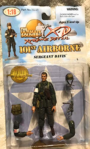 21st Century Toys Ultimate Soldier 101st Airborne Sergeant Davis Figure 1:18 21st Century Toys Ultimate Soldier